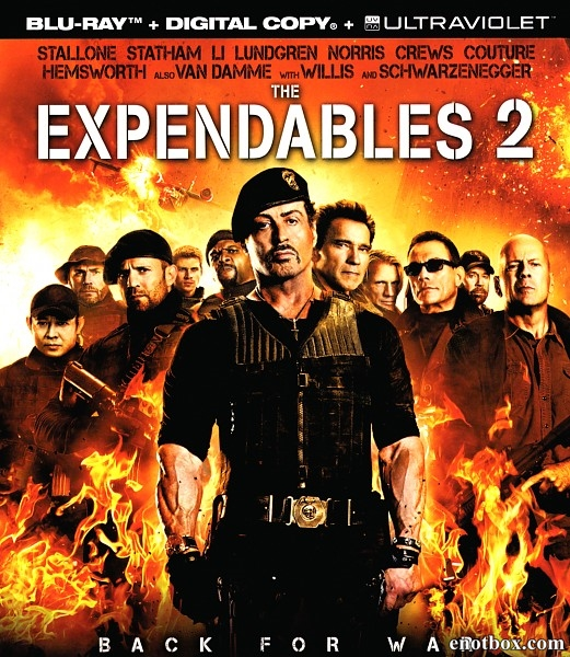 Неудержимые 2 / The Expendables 2 (2012/BDRip/HDRip)