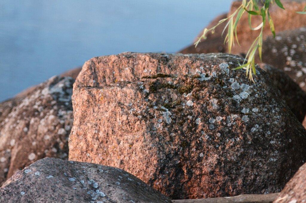 Камни, валуны, Псковское озеро