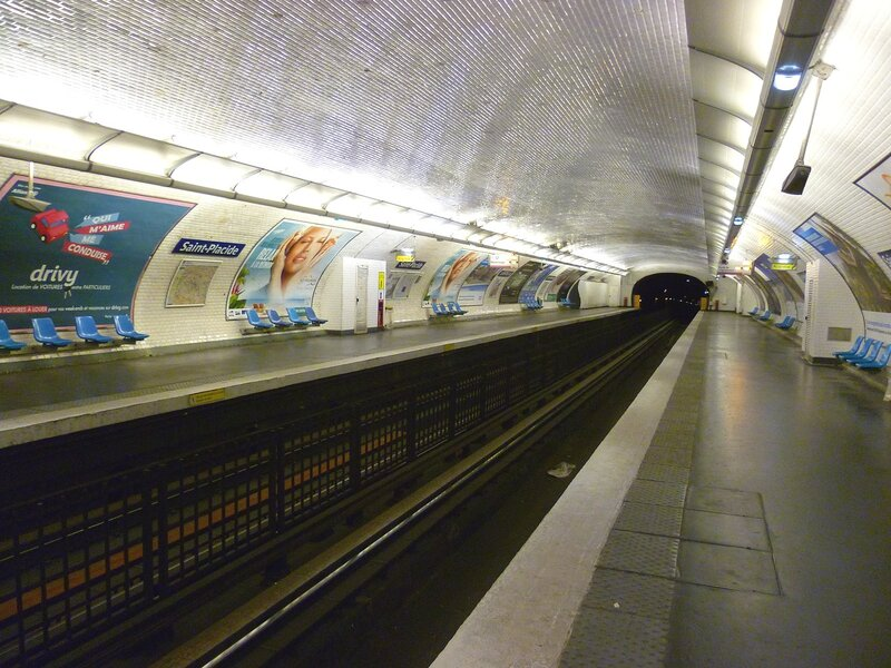 Метро в Париже (Metro in Paris)