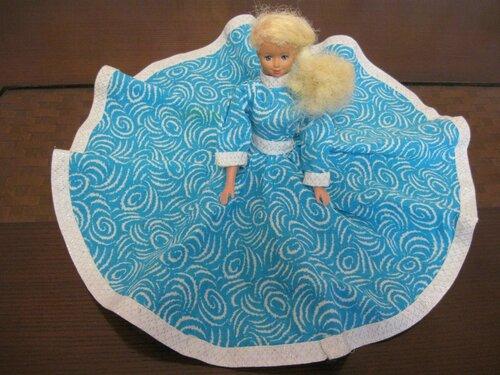 платьице Барби с юбкой солнце