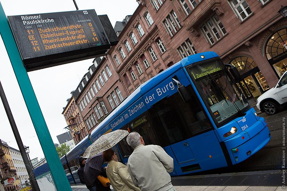 трамвай во Франкфурте-на-Майне