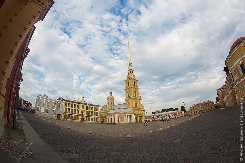 Вертолетная экскурсия от Петропавловской крепости