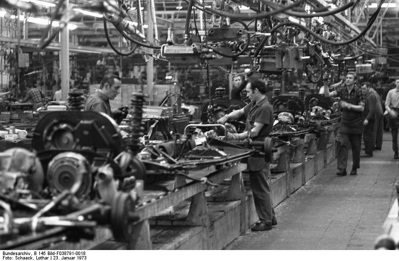 Wolfsburg, VW Autowerk