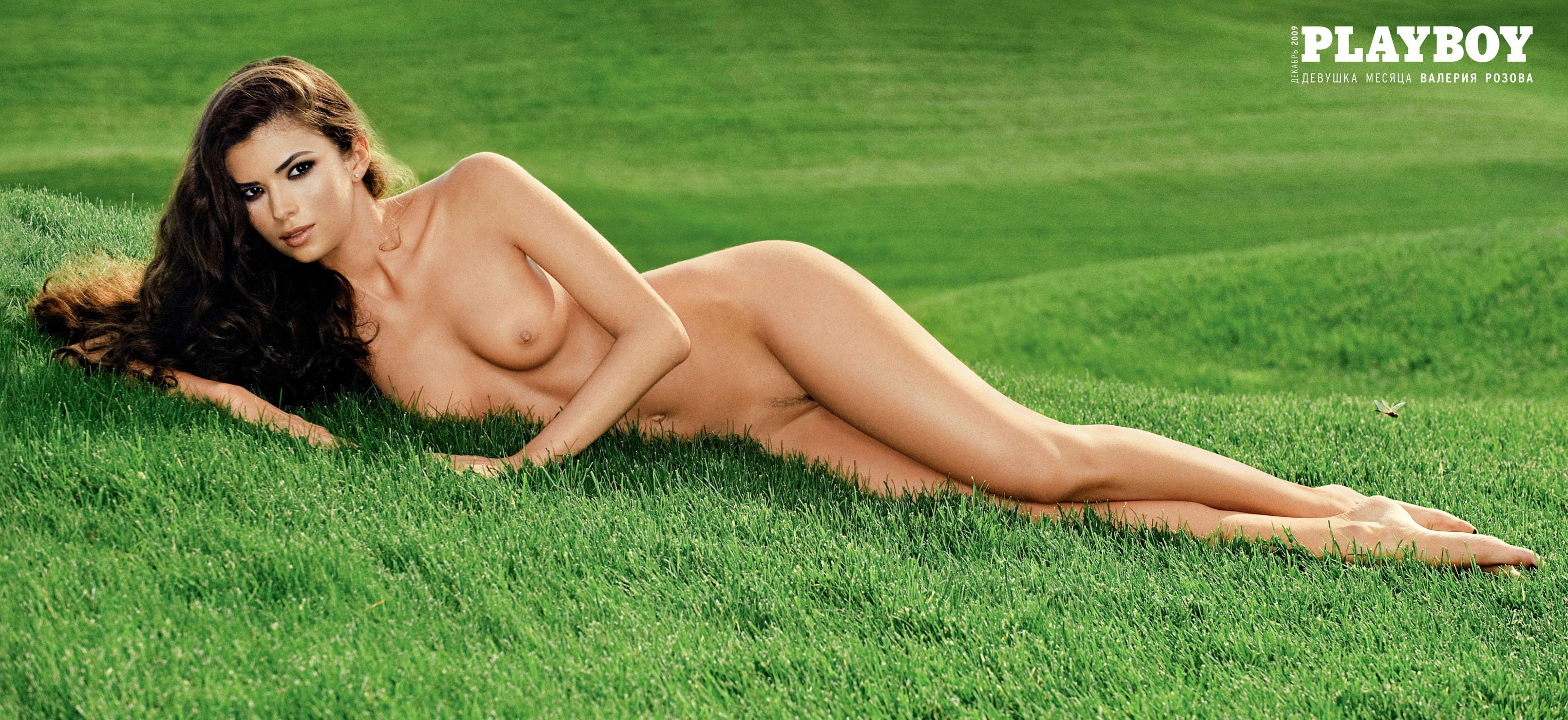 Валерия Розова в украинском Playboy, декабрь 2009