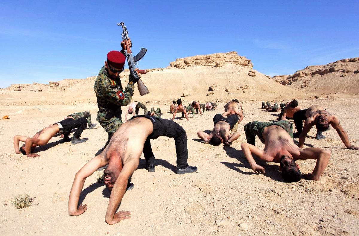 На учебном поле брани: Картинки из жизни бойцов различных спецназов (30)