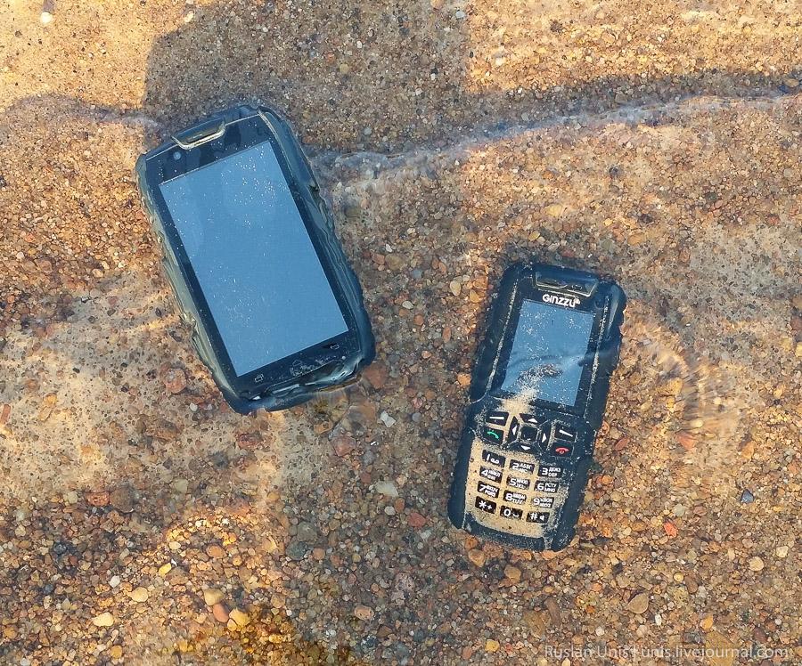 Защищенные телефоны Ginzzu