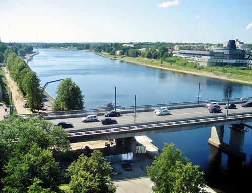 Ольгинский мост во Пскове