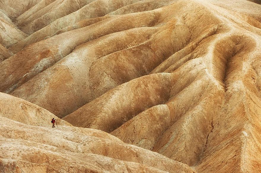 Бесплодные земли в национальном парке Долина Смерти.
