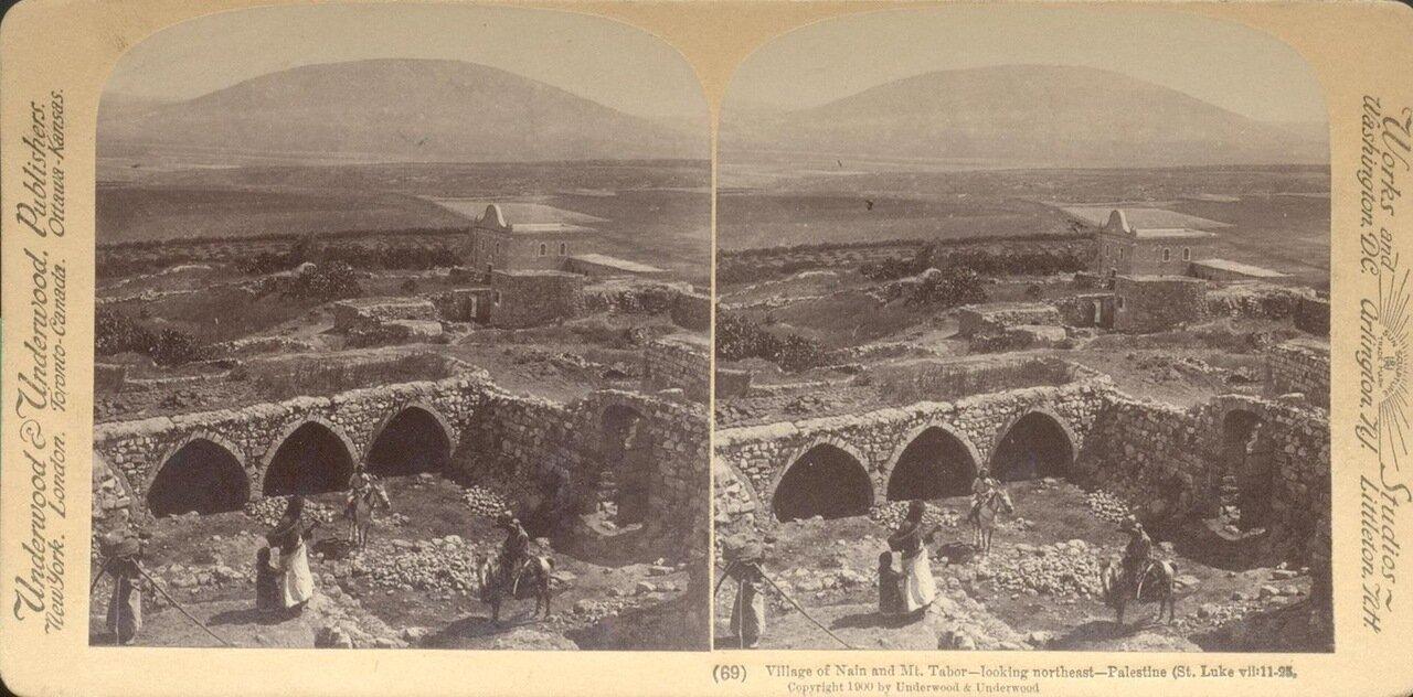 Деревня Наин и гора Фавор. 1900
