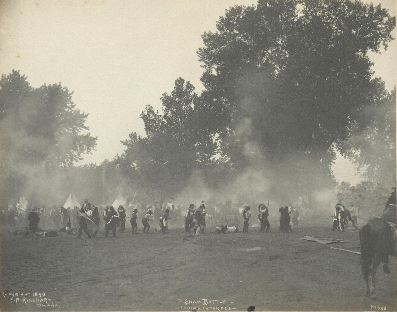 Учебный бой. 1898