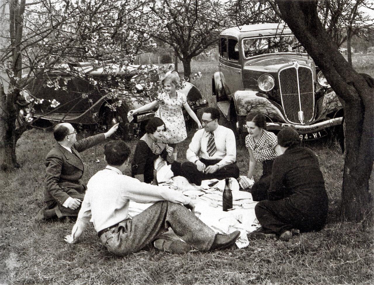 Парижане на пикнике
