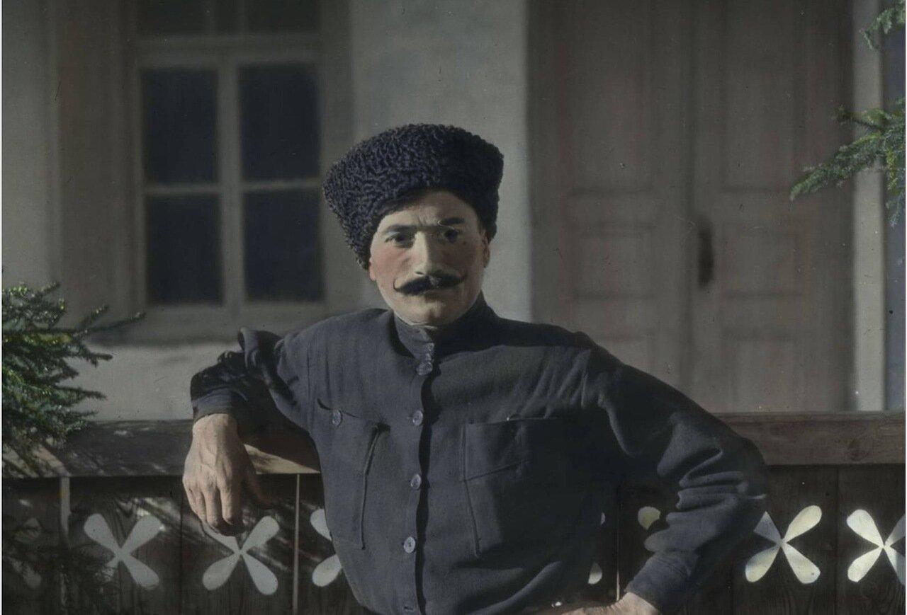 Мужчина из семьи Джапаридзе в Местиа
