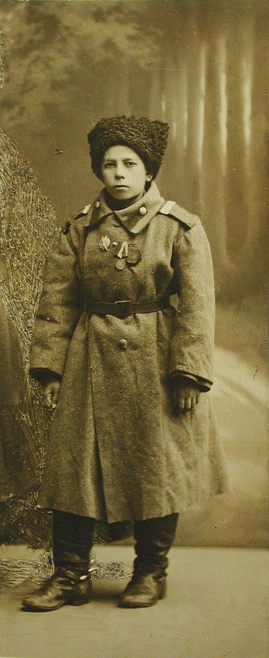 42. Портрет добровольца Гавриила Буданова