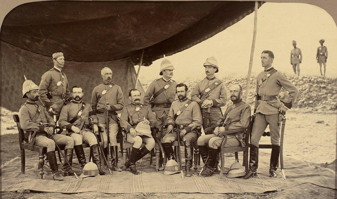 Офицеры Собственный королевского полка