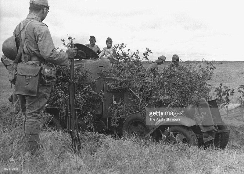 Захваченный японцами б/а БА-10. Халхин-Гол, 1939 год.
