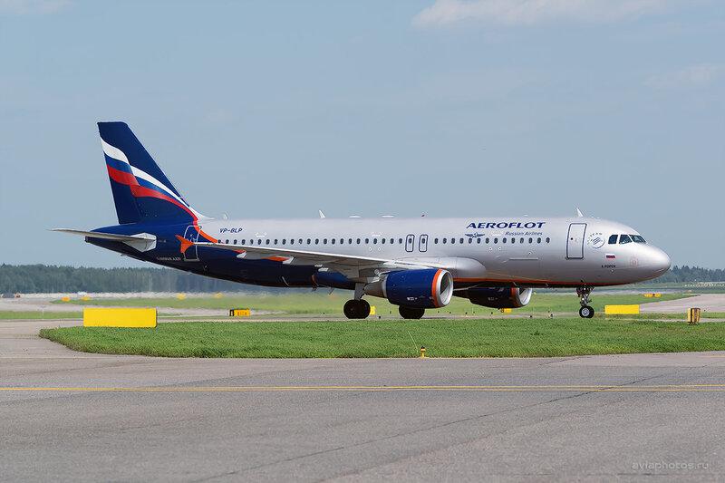 Airbus A320-214 (VP-BLP) Аэрофлот D805921