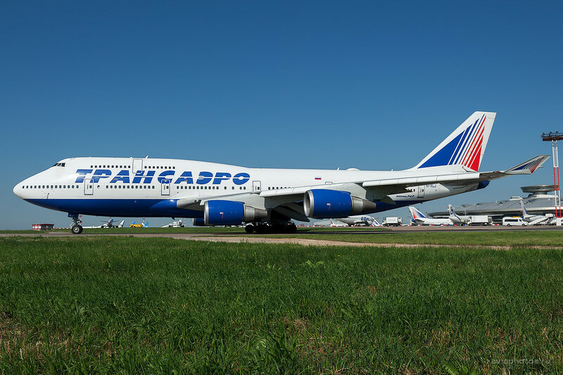 Boeing 747-446 (EI-XLJ) Трансаэро D701334