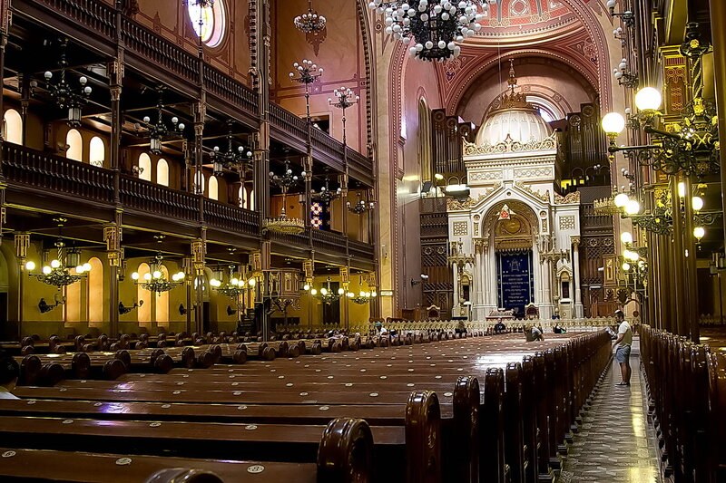 большая синагога будапешта фото