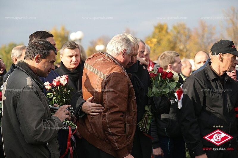 Прощание с Легендой «Спартака» Федором Черенковым (Фото)