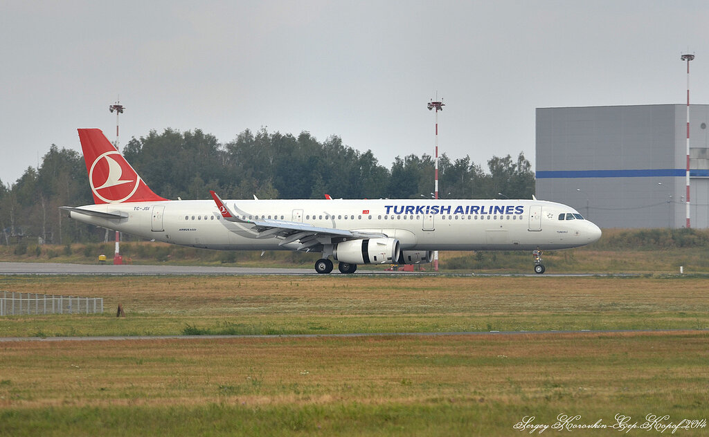Airbus A321-231 Turkish Airlines TC-JSI
