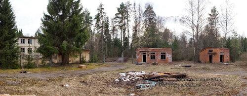 Покинутая база ГО и ЧС, апрель 2014