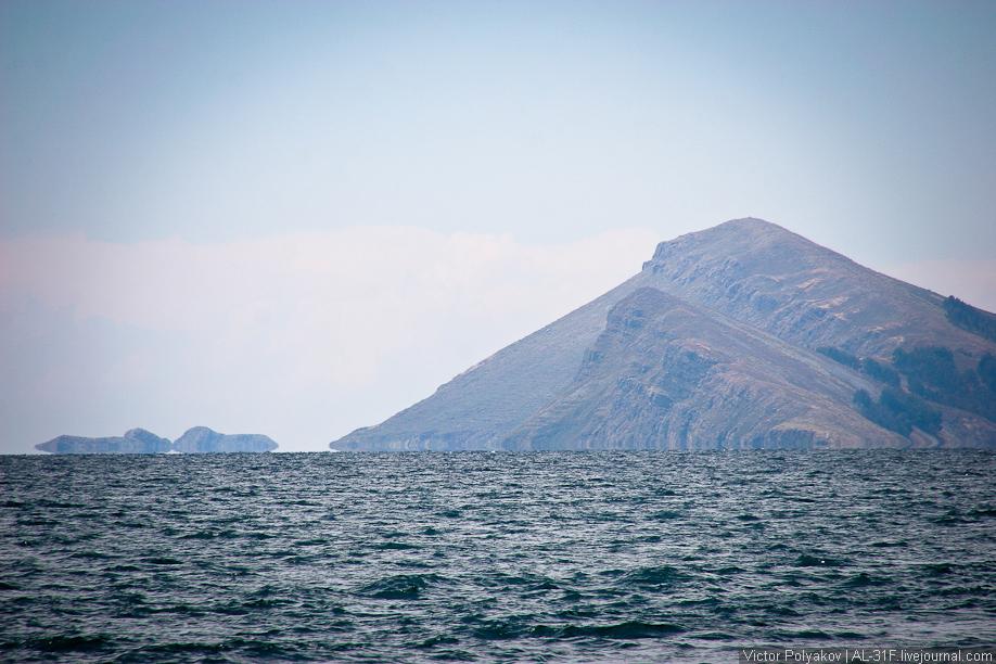 Мираж на озере Титикака