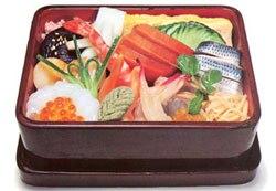 Разновидности суши. Тирасидзуси