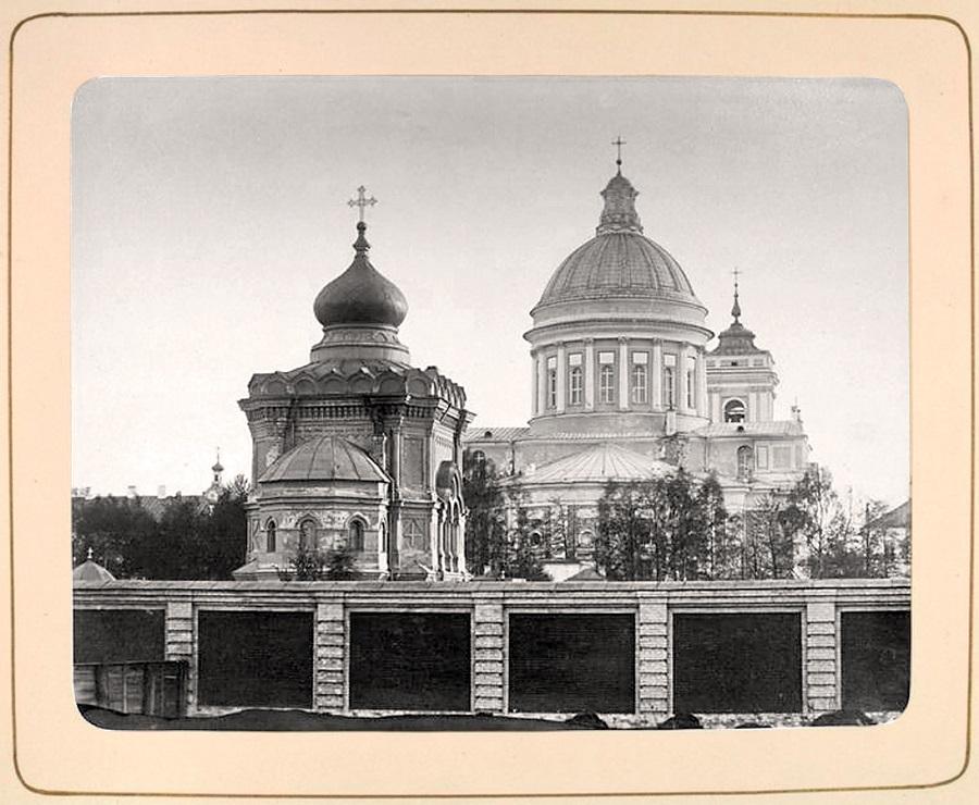 000 Александро - Невская Лавра в СанктПетербурге фото1874 год.jpg