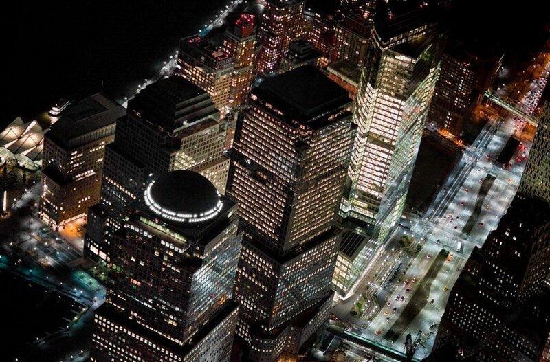 Америка. Ночной Нью-Йорк (фото)