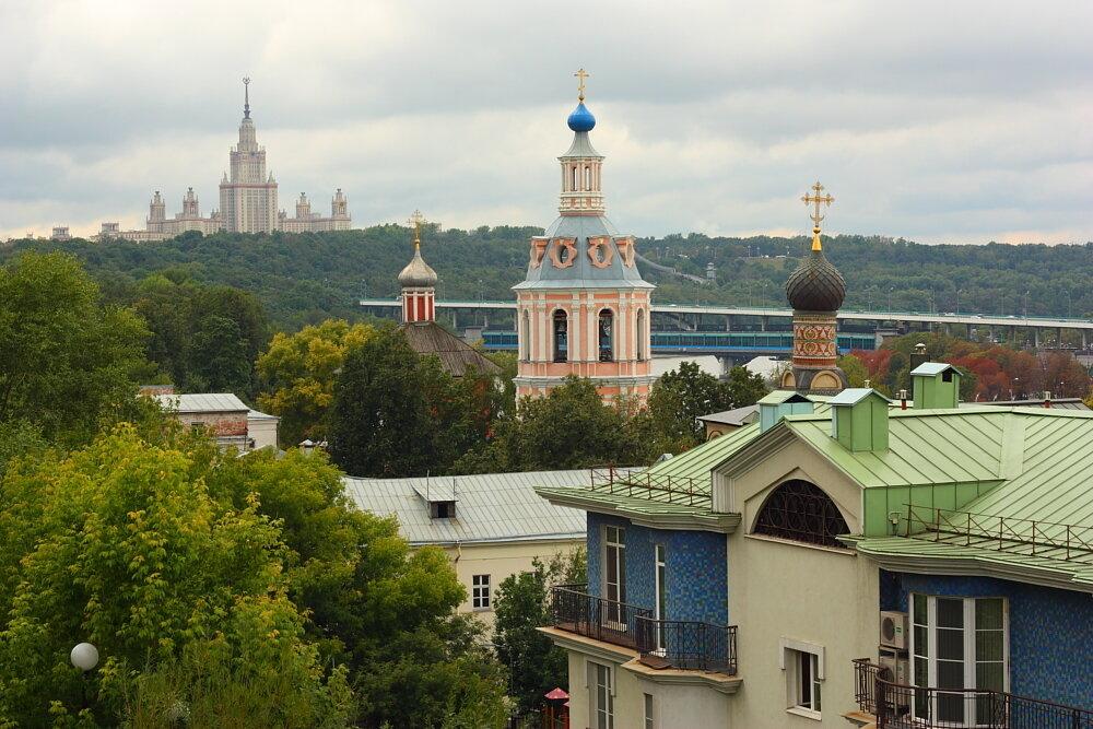 Андреевский монастыр и Университет