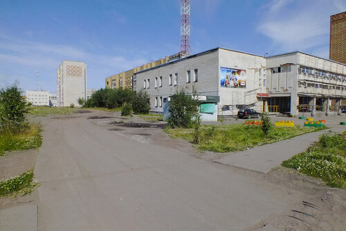 Фото города Инта №7070  Юго-западный угол Куратова 50а 13.08.2014_11:53