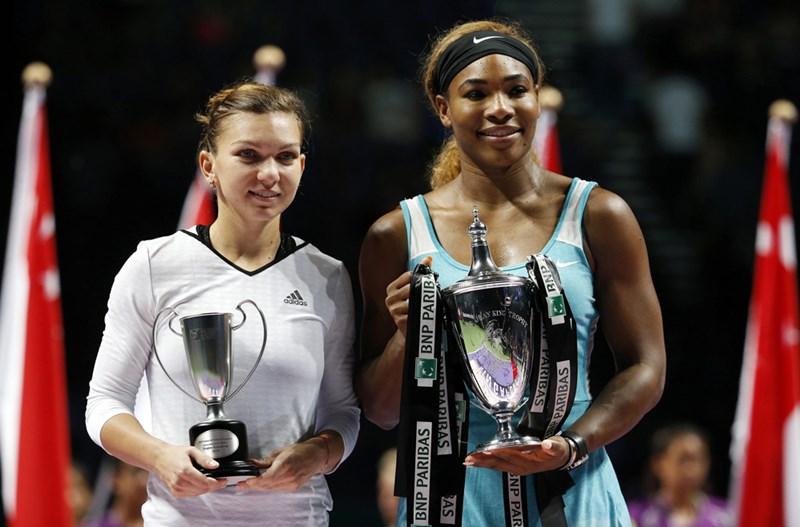 Теннисистка Серена Уильямс в третий раз подряд выиграла турнир WTA Masters