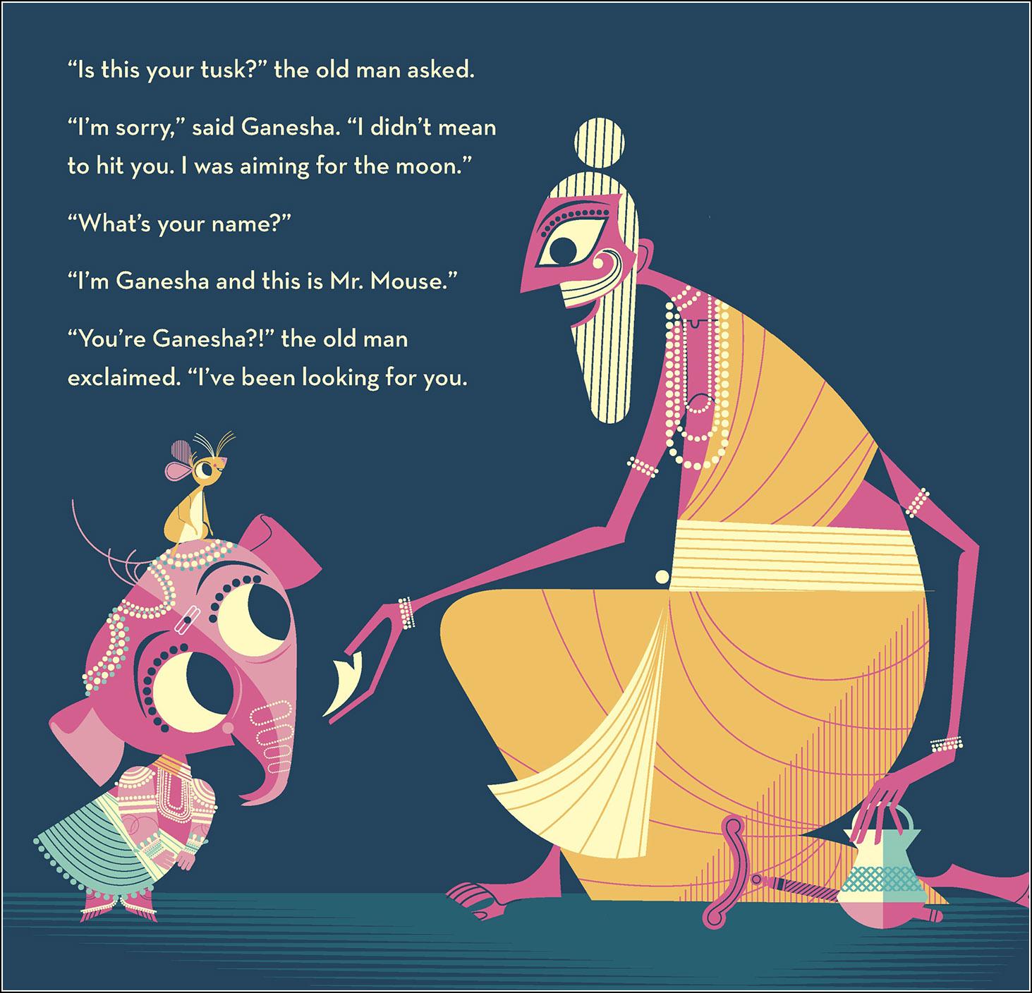 Sanjay Patel, Ganesha's Sweet Tooth