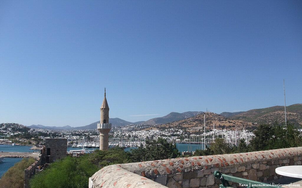 Замок Святого Петра в Бодруме. Турция.