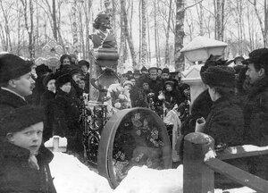 Открытие памятника поэту С.Я.Надсону.