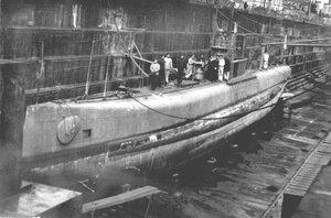Подводный минный заградитель Краб