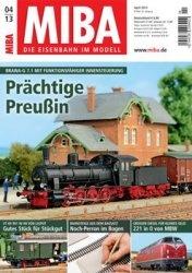 Журнал MIBA Die Eisenbahn im Modell 2013-04