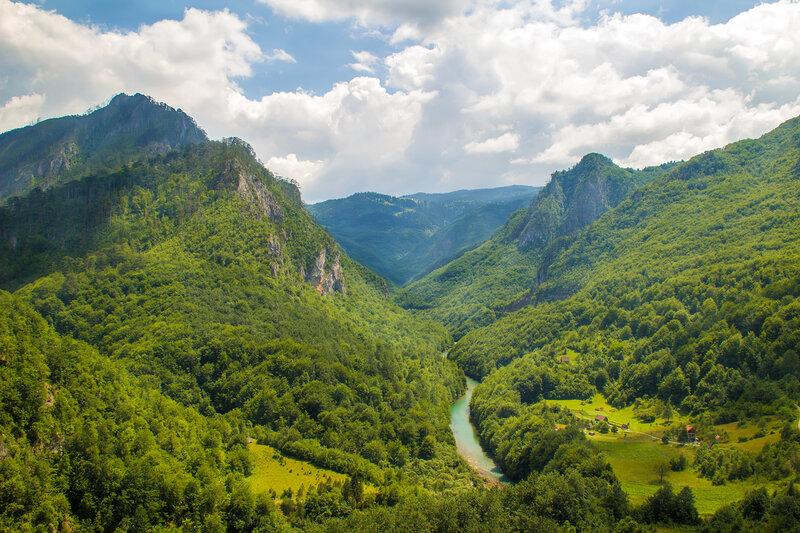 Каньон реки Тара....