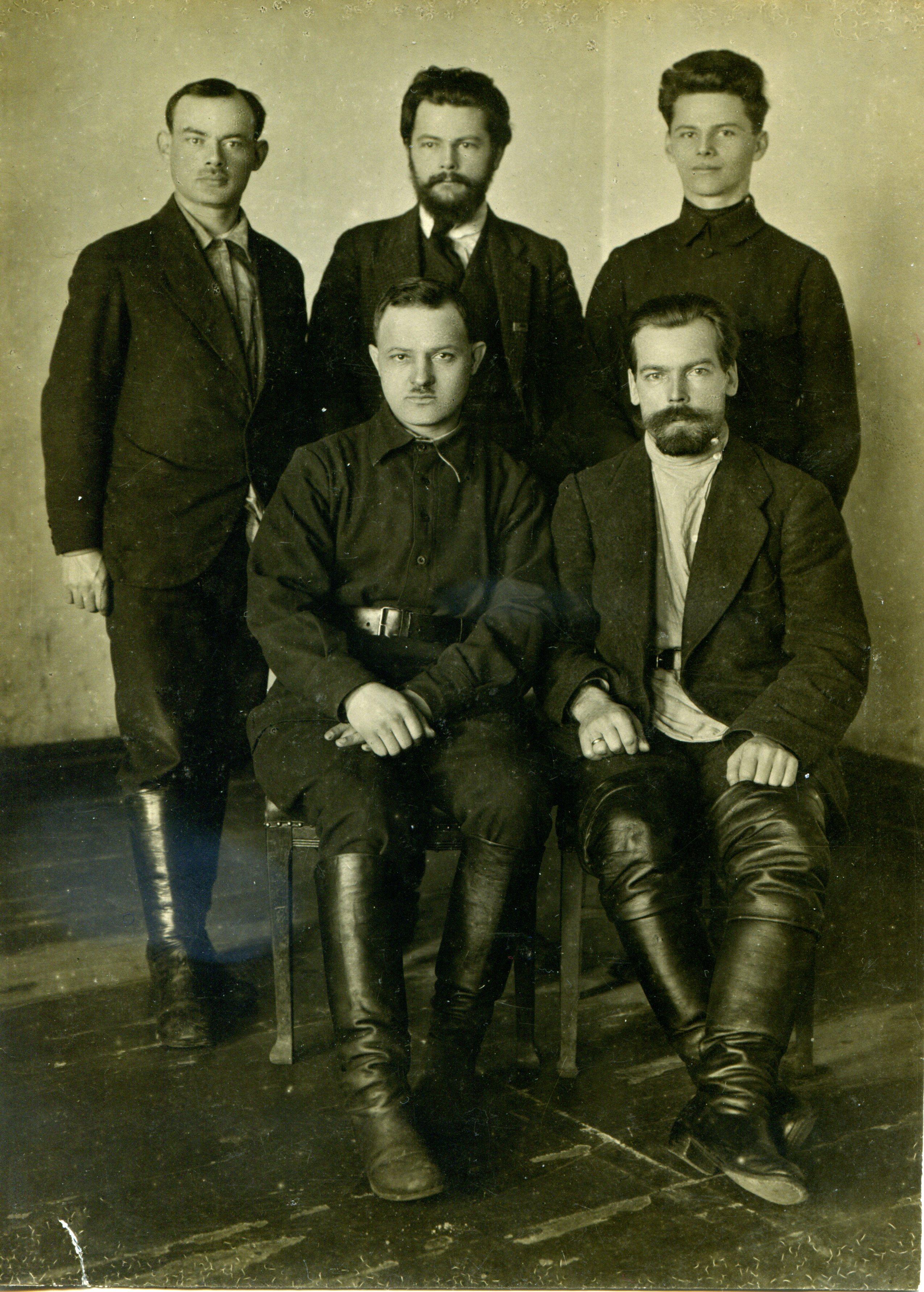 1923 Вологда с Лобановым Котляром Анохиным лиц (1).jpg