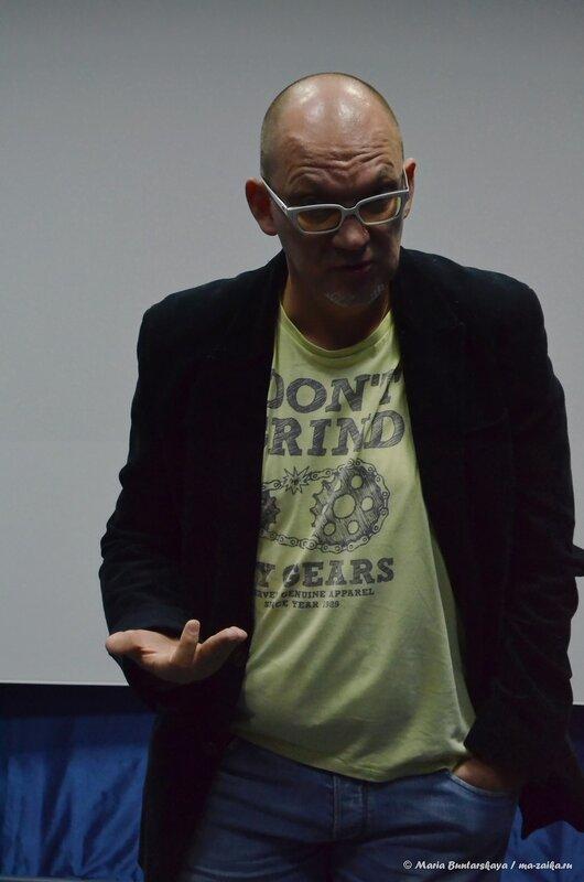 Творческая встреча с Евгением Крыловым, Саратов, Дом Кино, 10 октября 2014 года