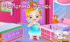 Девочка Хейзел балетные танцы