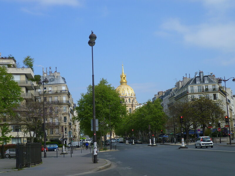 Париж, Дом Инвалидов (Paris, Les Invalides)