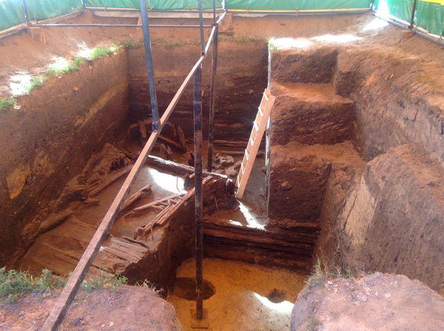 Археологические раскопки в Мстиславле
