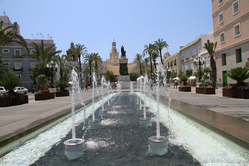 Кадис, площадь Сан Хуан де Диос