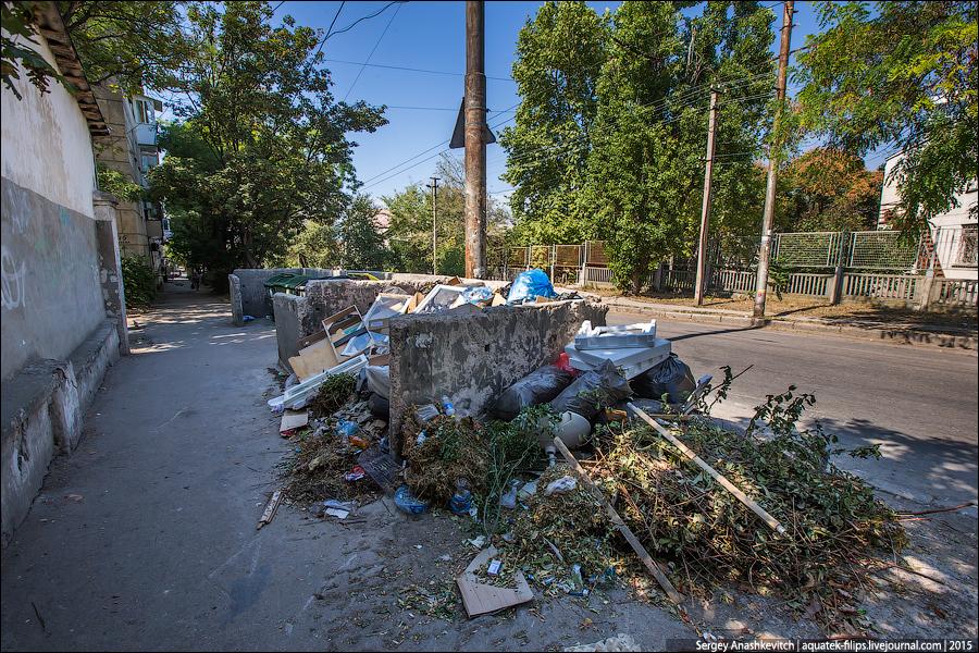 Мусор в Севастополе