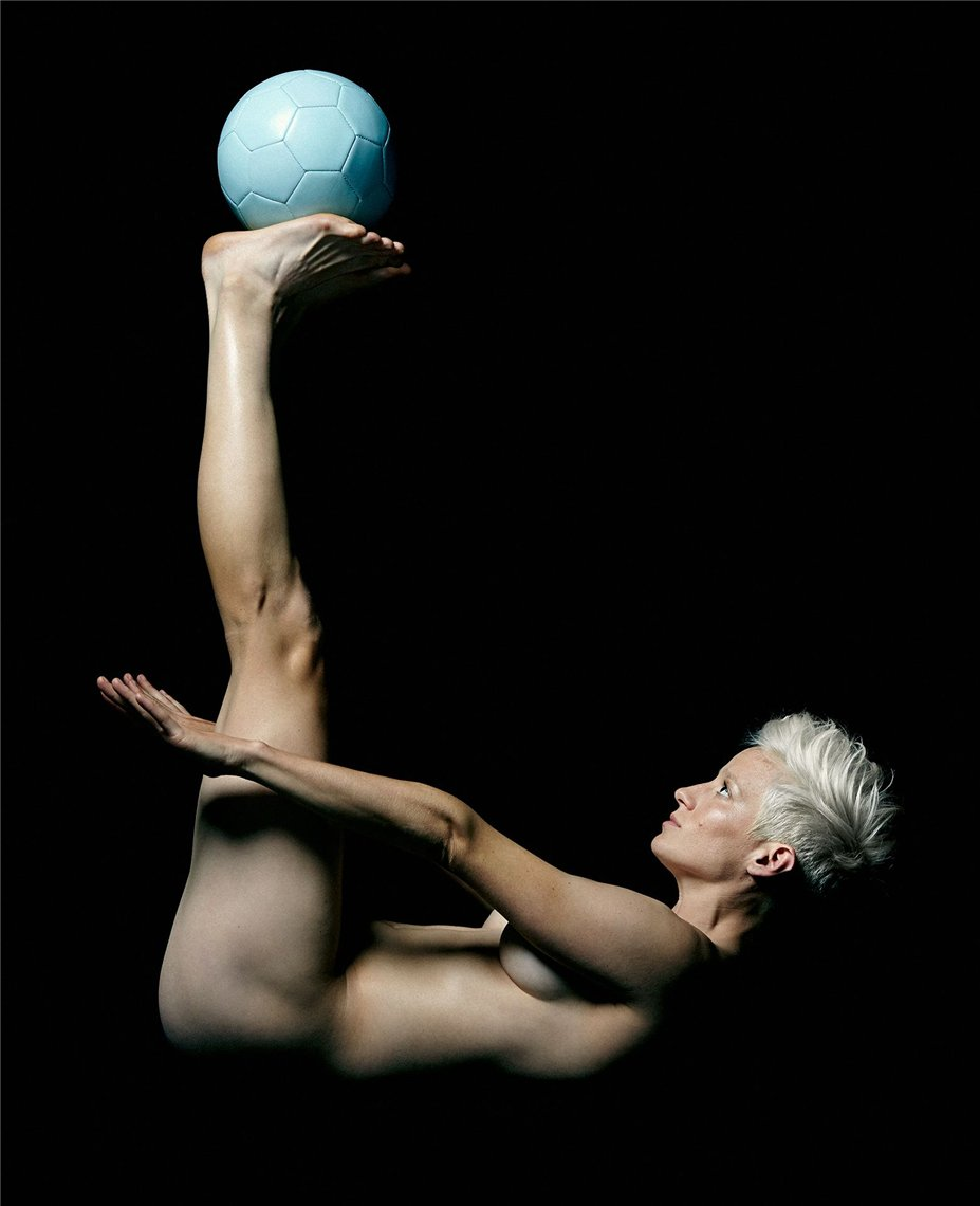 ESPN Magazine Body Issue 2014 - Megan Rapinoe / Меган Рапиноу