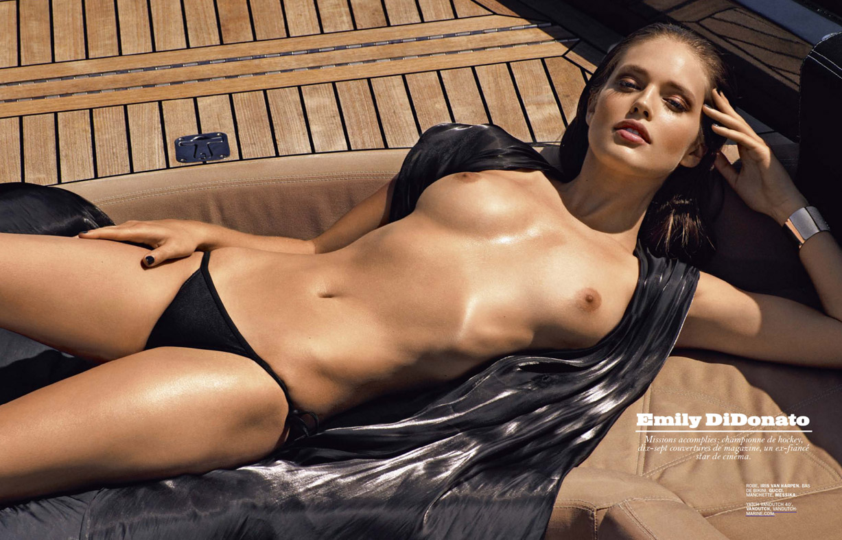 Эмили ДиДонато / Emily DiDonato - Lui Magazine July/August 2014 / photo by Mark Segal