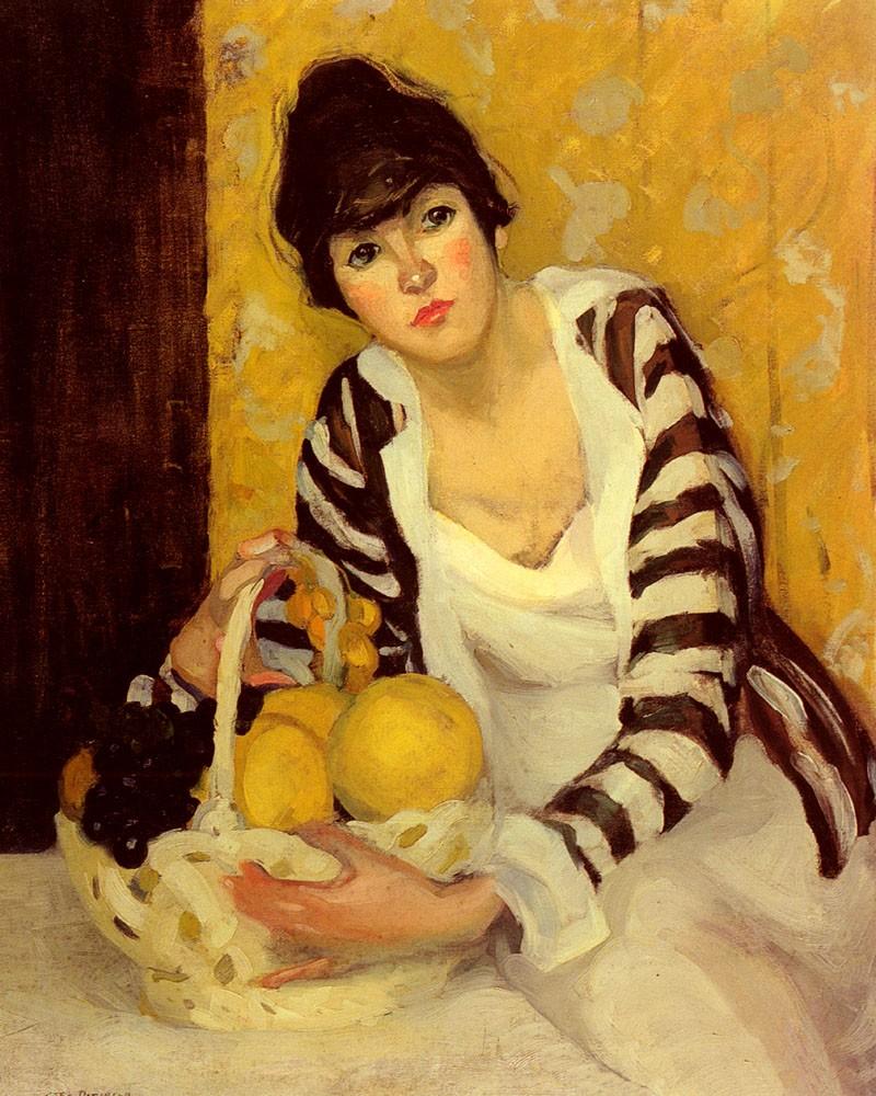 Джейн Петерсон, Девушка с фруктами
