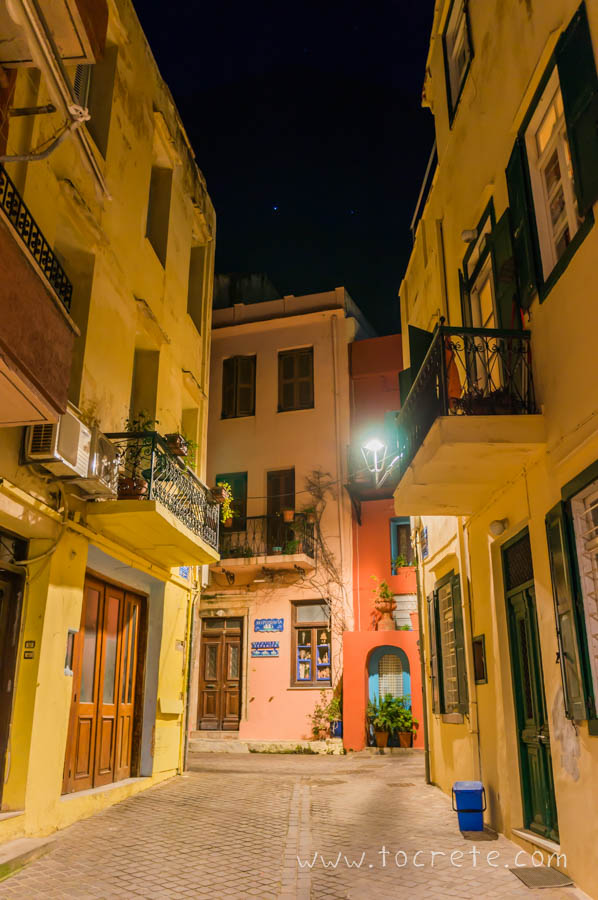 Ночная Ханья | Chania at night