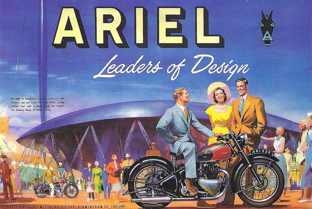 Ariel - Великобритания (1951 год)